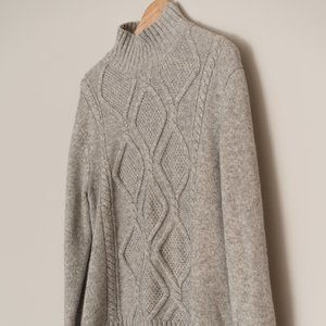Banana Republic Cable Knit Turtleneck